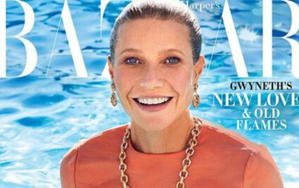Gwyneth Paltrow On Harper Bazaar's February 2020 Issue Cover And Editorial