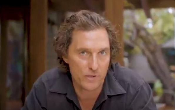 'Because every red light eventually turns green.' - Mathew McConaughey