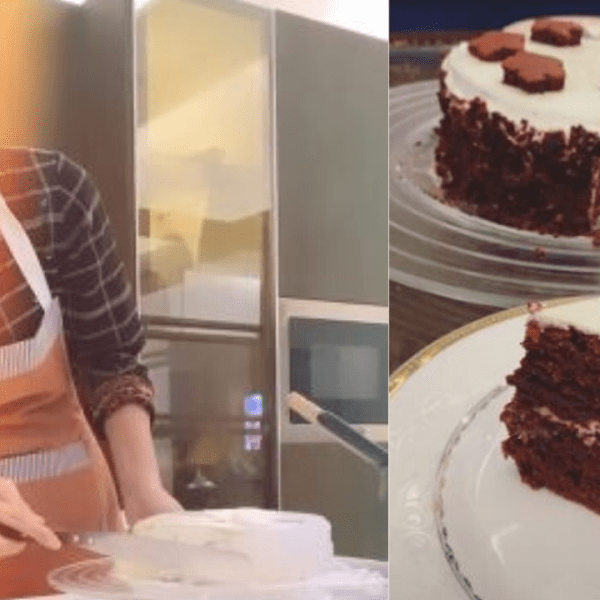 Maya Ali Bakes A Cake As Her Baking Episode Continues