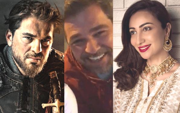 Anoushey Ashraf Misses Facetime With 'Diriliş Ertuğrul' Star Engin Altan Duzyatan (Ertugrul Bey)