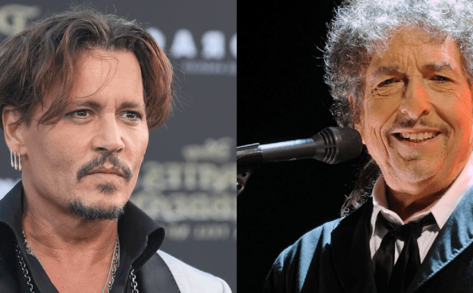 "Johnny Depp Sings Bob Dylan's ""The Times They Are A-Changin'"""