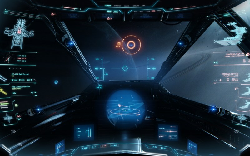 First-Person Space Combat