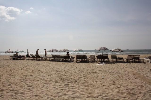 Mandrel Beach Goa holiday Trip