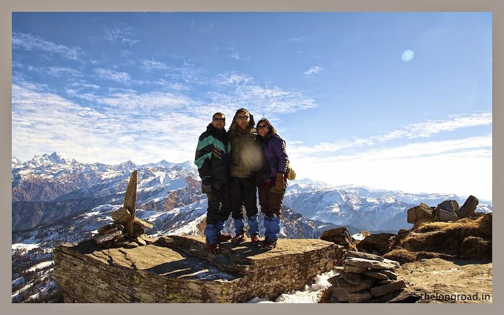 Kedarkantha trek summit