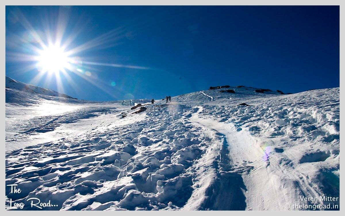 A Photography Workshop on the slopes of Himalayas @11250 Ft during Kedarkantha trek