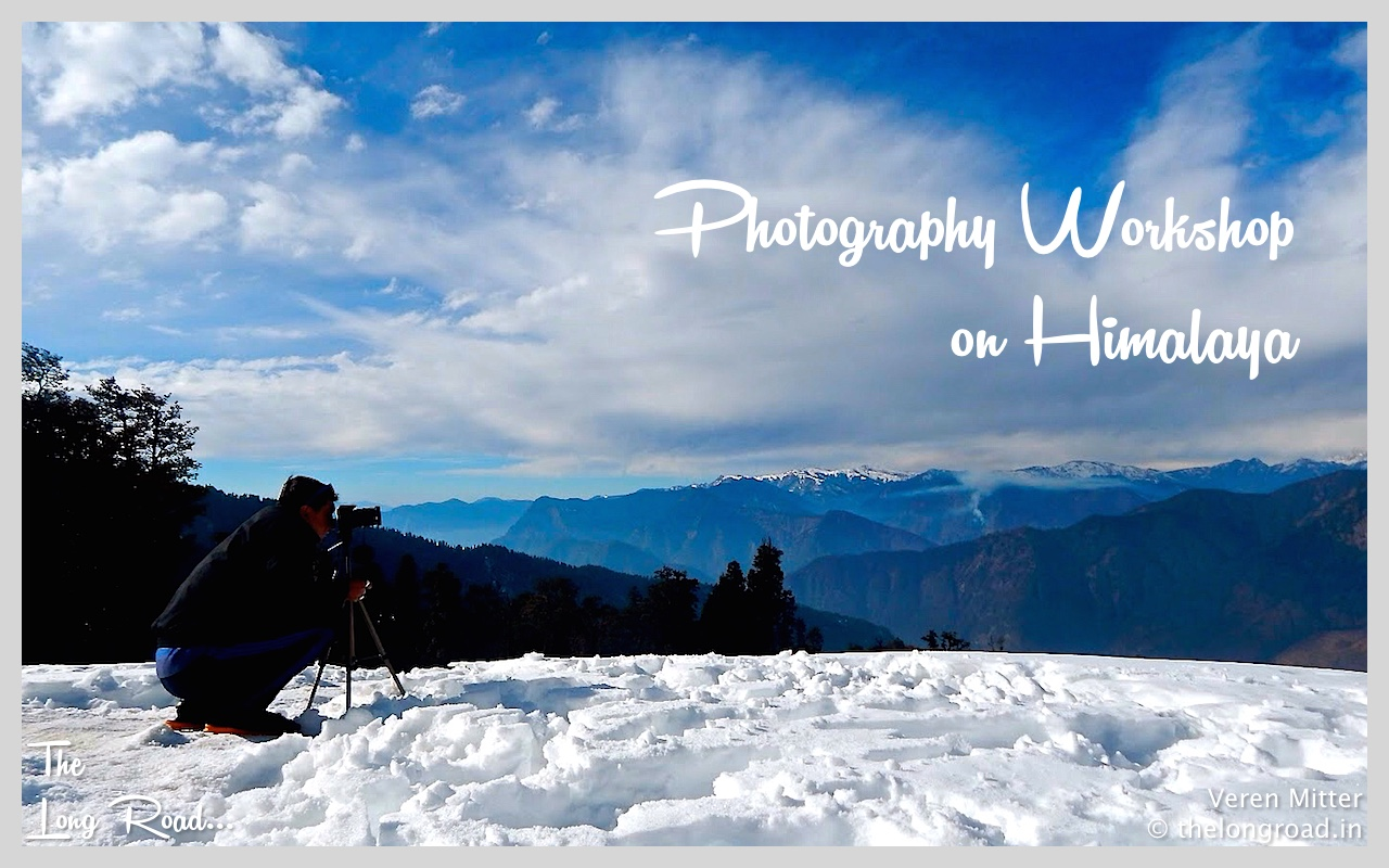 Photo taken during Landscape Photography workshop on Himalaya in winter