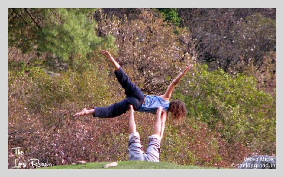 Yoga amid Nature at kheerganga