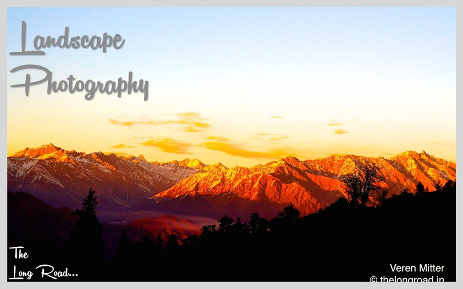 Landscape photography on Himalaya