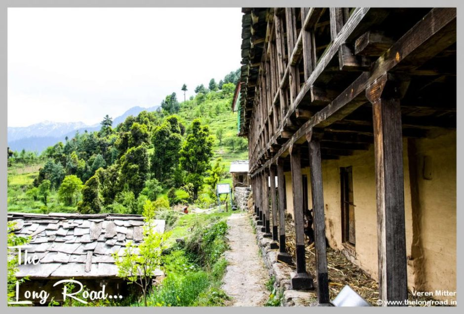 House in Tirthan valley, GHNP