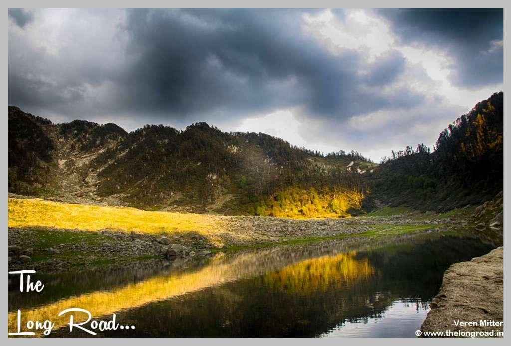Kareri lake waters