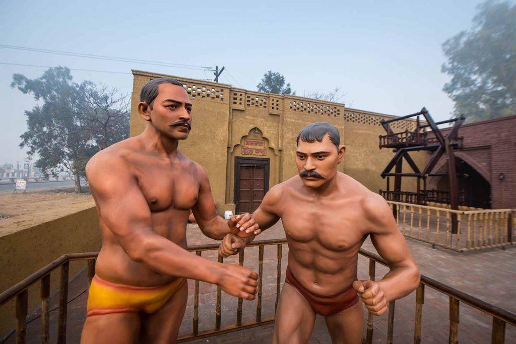 Wresting place in village. Haveli Amritsar