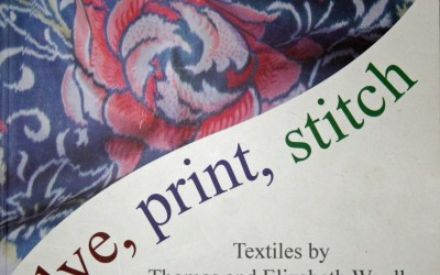 Dye, print, stitch – book review and UK Online Guild series What Inspires Contemporary Weavers?