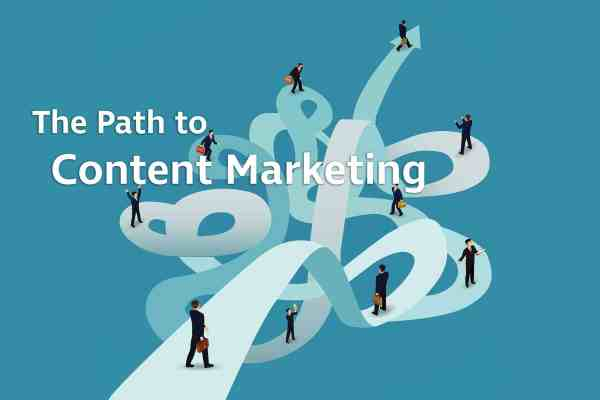 path to content marketing
