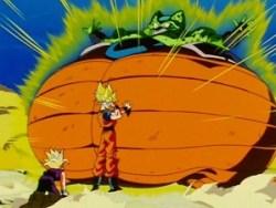 goku cell death morte di goku dragon ball 2