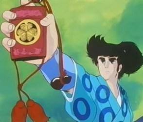 L'invincibile shogun i personaggi della serie animata Manga Mitokomon