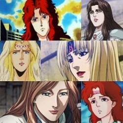 I personaggi femminili di Ken il guerriero più sexy