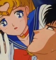 Quando Sailor Moon scopre che Milord è Marzio