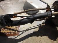 30R9 fuel injection hose doesn't belong inside the fuel tank!