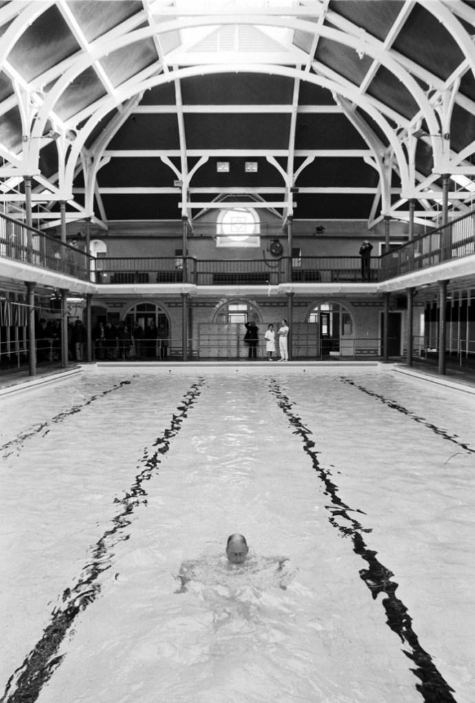 Infirmary Street baths 1978