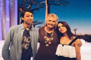 Un pomeriggio in TV, ospiti de Il Mondo Insieme con Licia Colò