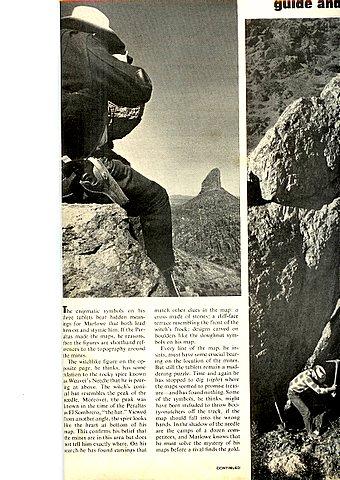 Life Magazines Stone Map Story 3