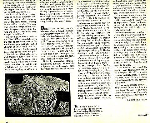 Life Magazines Stone Map Story