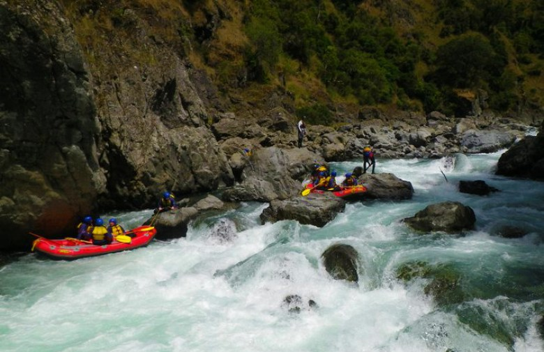 New Zealand White Water Rafting