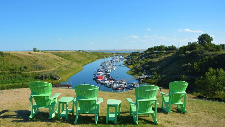 Sail in Saskatchewan