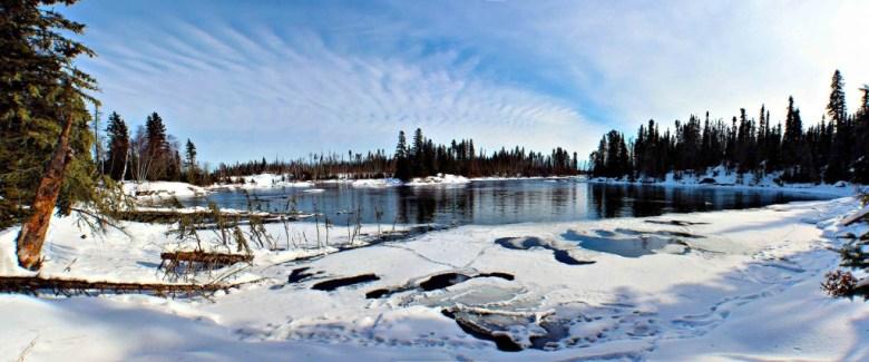 The Churchill River, Canada