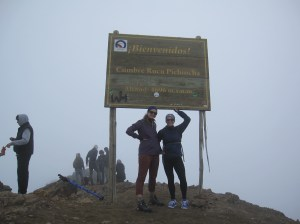 Officially made it to the top! An impressive 4696m - and no major signs of altitude sickness.