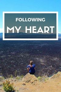 Sometimes you just need to listen to you heart - and follow it!