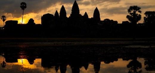 Angkor Wat Near Siem Reap, Cambodia