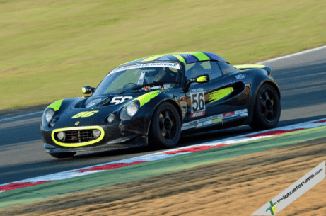 Stuart Rowland added to his Elise Trophy victory tally at Brands Hatch (image courtesy of Derek Partridge)