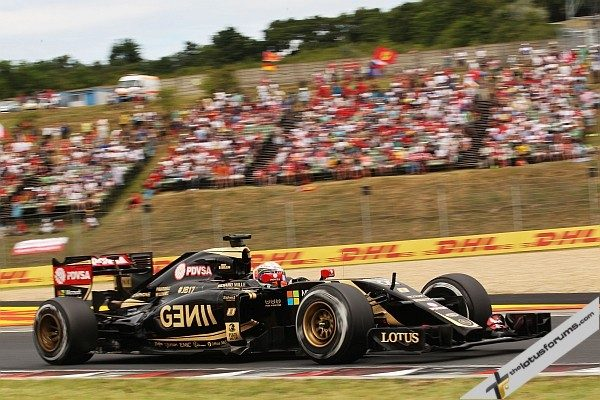 Romain Grosjean (FRA) Lotus F1 E23. Hungarian Grand Prix, Sunday 26th July 2015. Budapest, Hungary.
