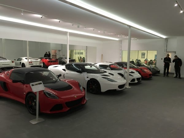 Phase 1 showroom (near completion)