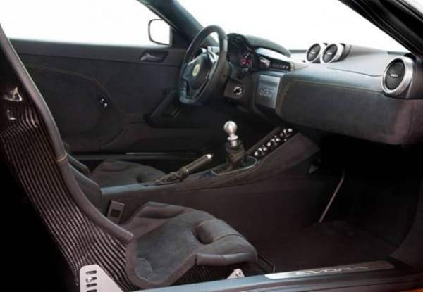 Evora Sport 410 interior