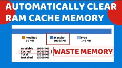 Photo of Automatically Clear RAM Cache Memory in Windows 10 – LotusGeek