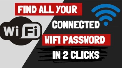 Photo of Find All Your Connected WiFi Password in 2 Clicks