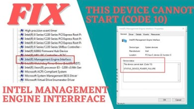 Photo of Fix Intel Management Engine Interface (The Device Cannot Start Code – 10) – LotusGeek