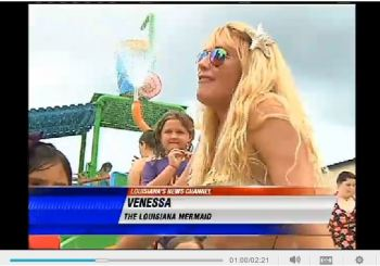 WAFB: Professor turns herself into popular mermaid