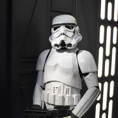 Storm trooper real estate agent