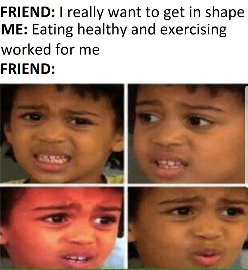 funny workout meme