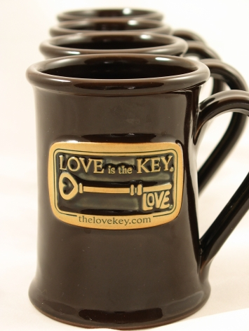 LOVE IS THE KEY® Mugs