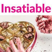 Insatiable Podcast Logo