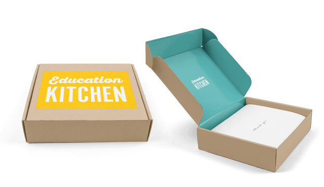 Education Kitchen Packaging Prototype
