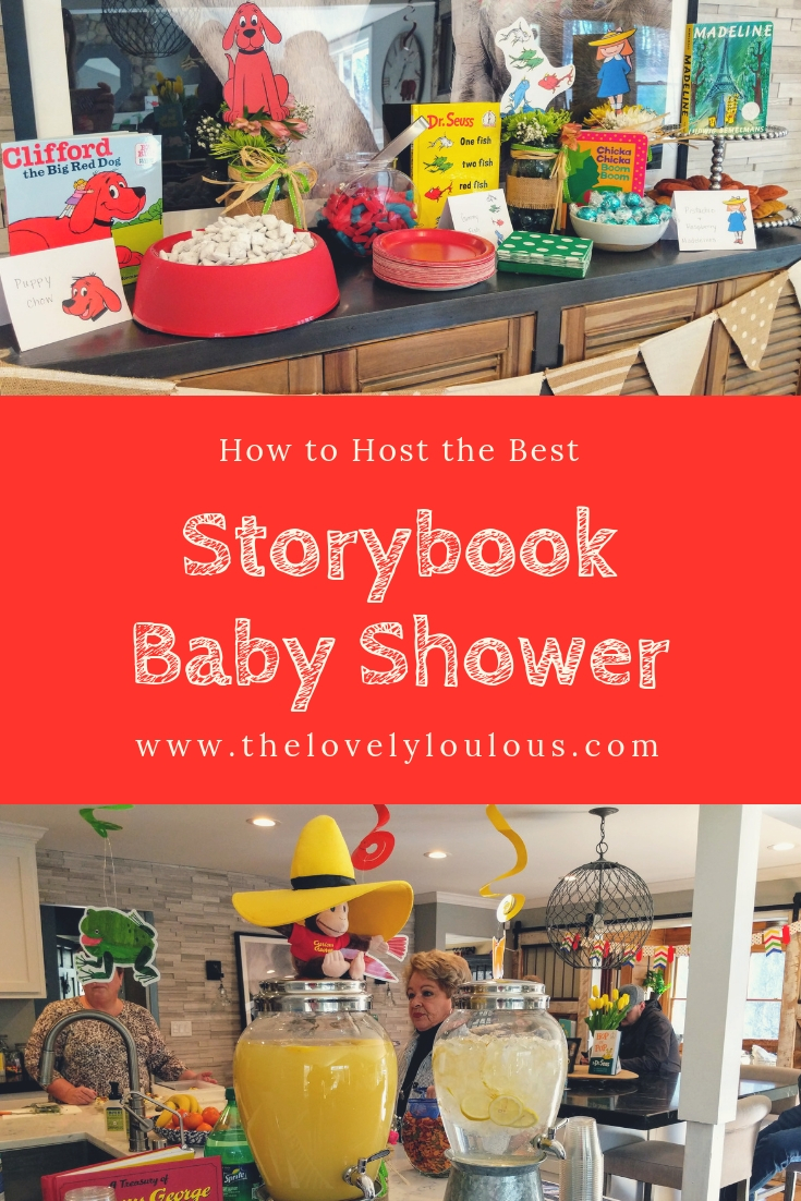 Storybook Baby Shower Ideas - The Lovely Lou Lous
