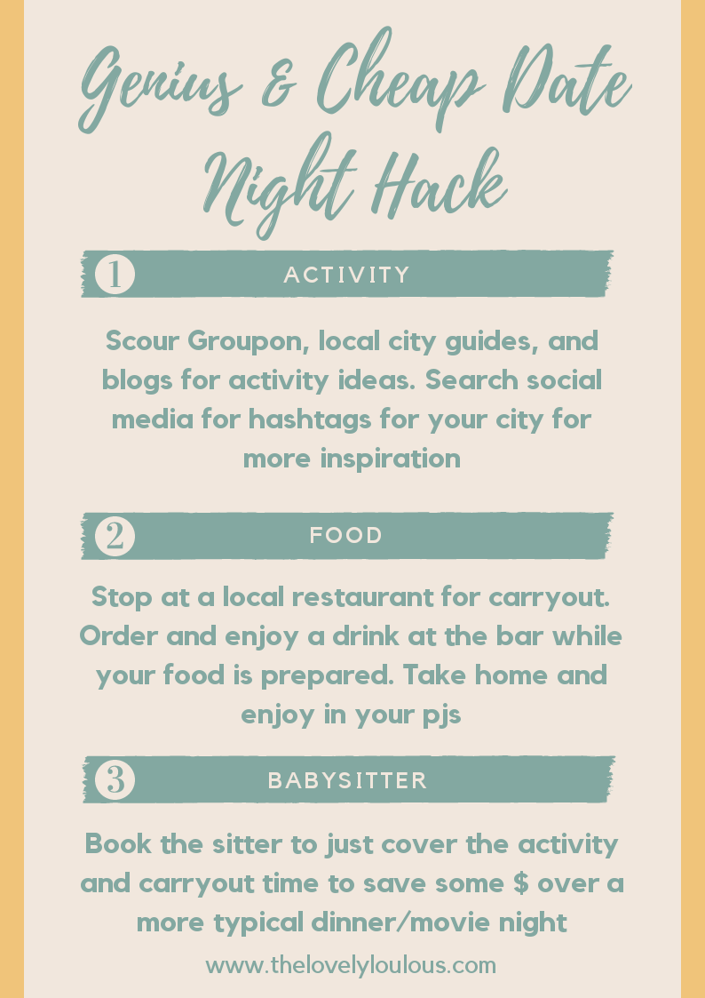 Cheap Date Night Hack