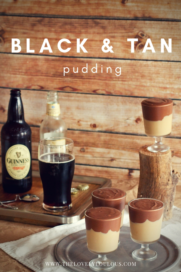 Black & Tan Pudding - The Lovely Lou Lous