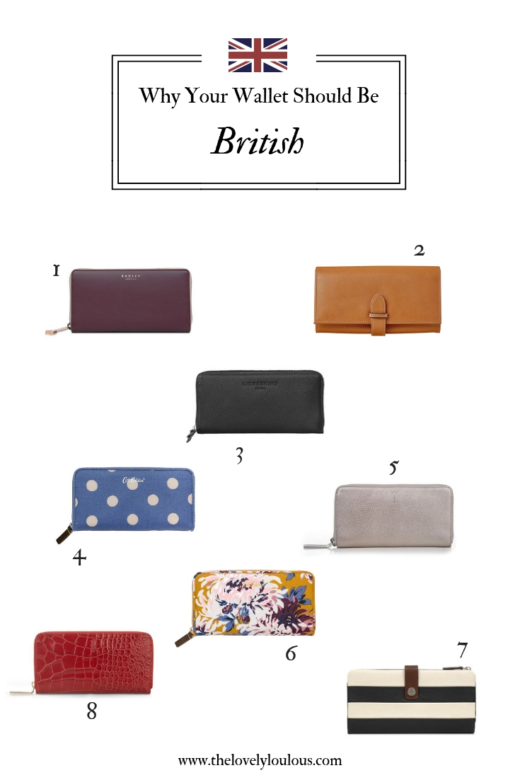 Why Your Wallet Should Be British - The Lovely Lou Lous