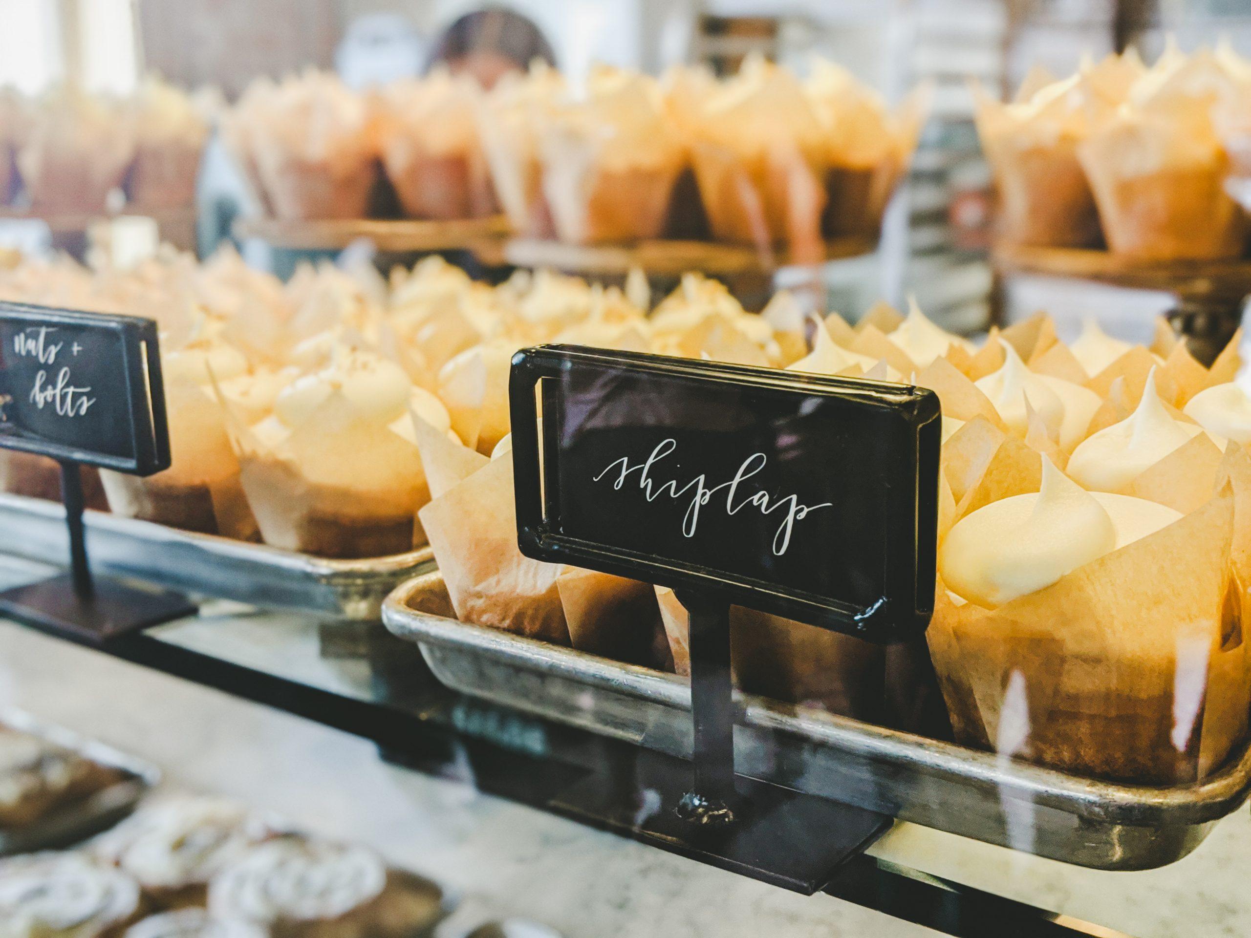 silos baking co. shiplap cupcakes